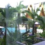 בריכת מלון נובוטל בשדה התעופה של בנגקוק